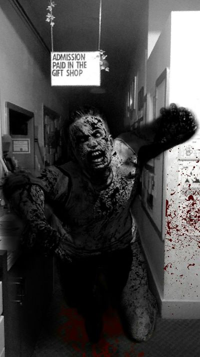 Zombie Photoshop Zombies  Undead Blood Blackandwhite Black And White Dark Photography Evildead