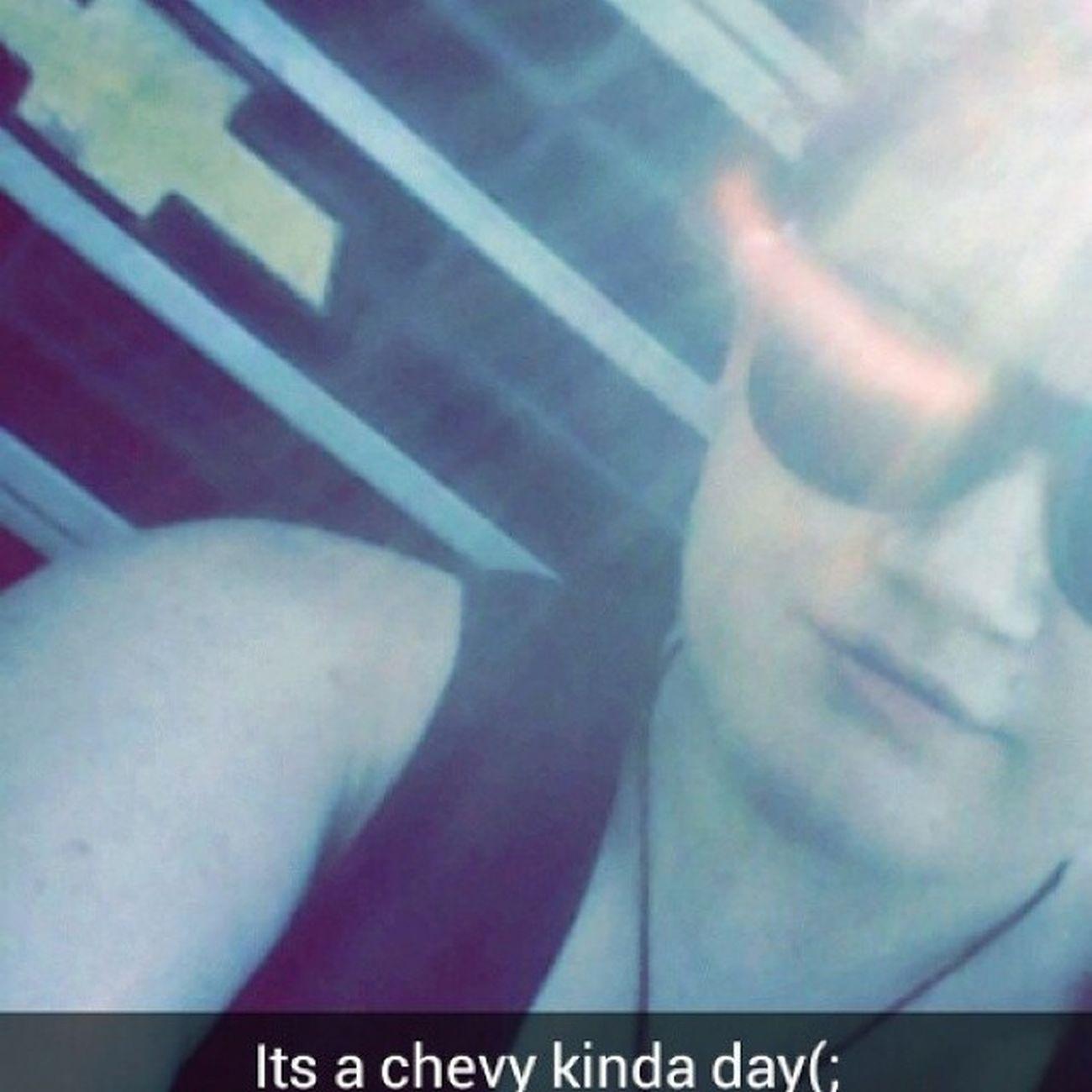 Chevygirl Chevy Snapchattin