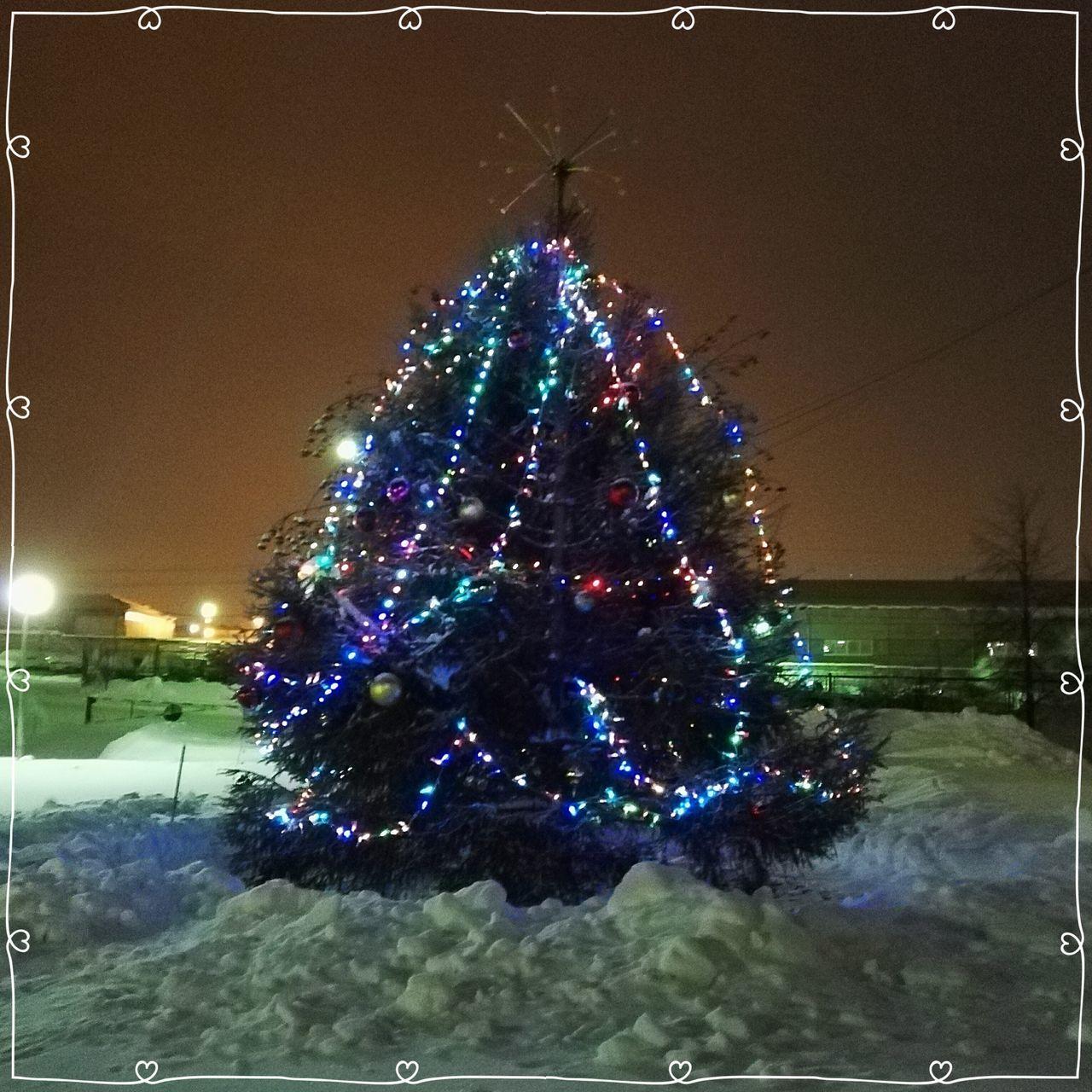 Izhevsk New Year Christmas Tree