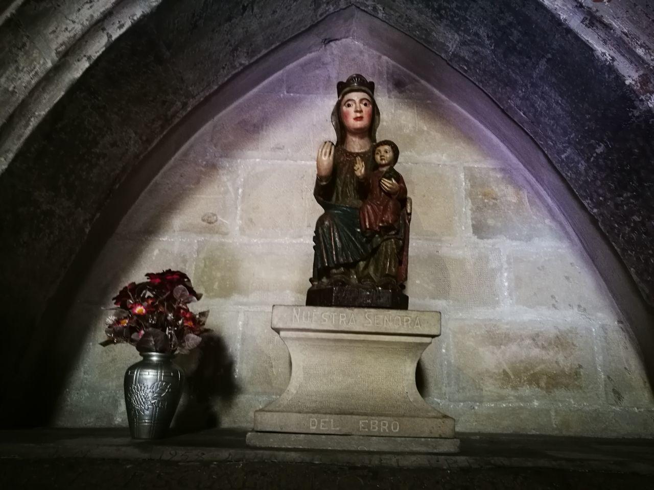 Virgin  Ebro River Fantastic History Logroño