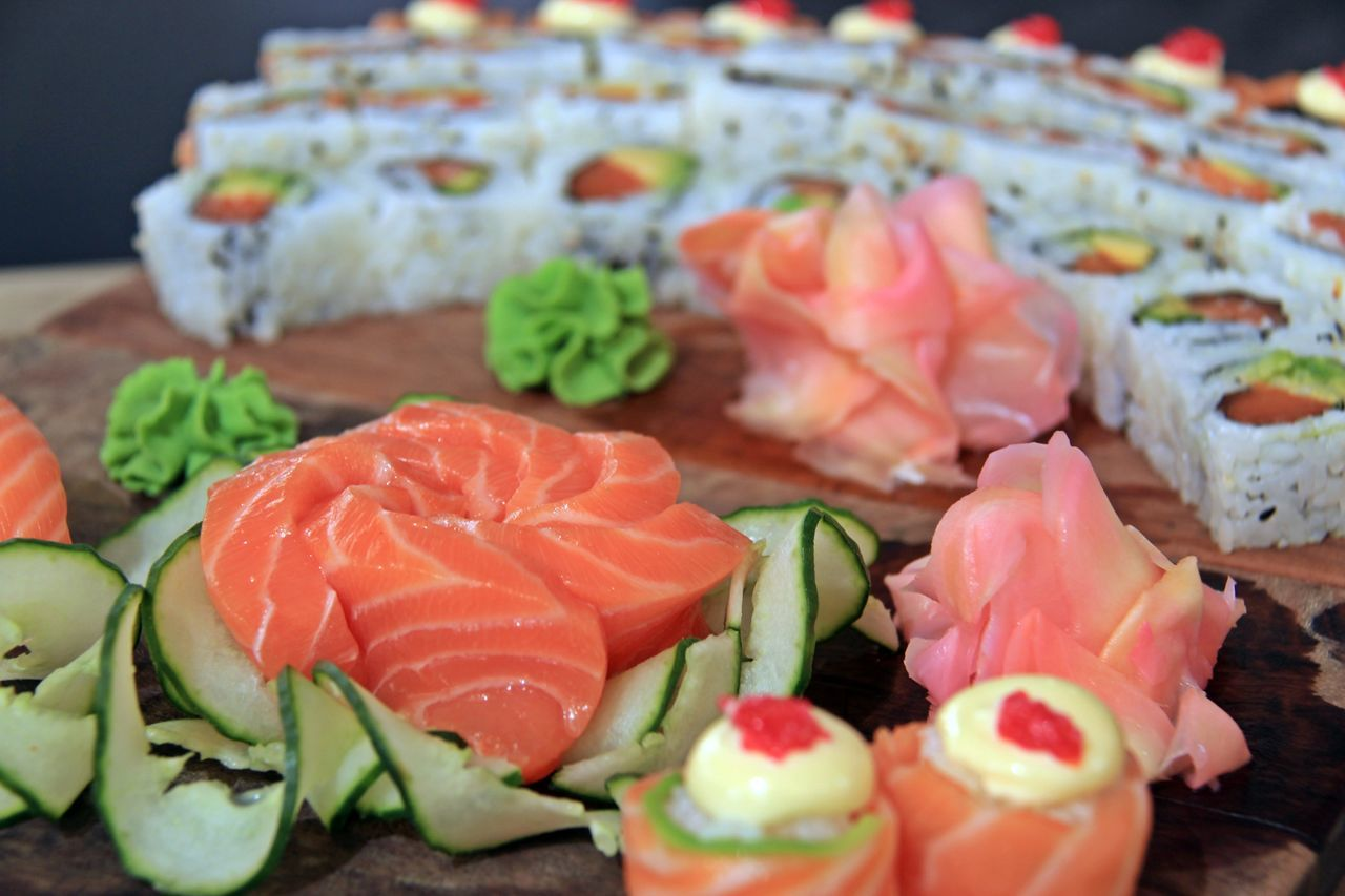 Close-up Food Freshness Healthy Eating Ready-to-eat Sushi Sushi Time Sushilover