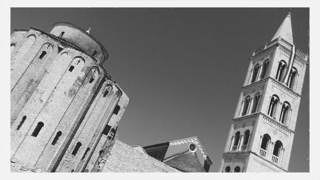 Churches Square St. Donat Zadar Croatia Exploring