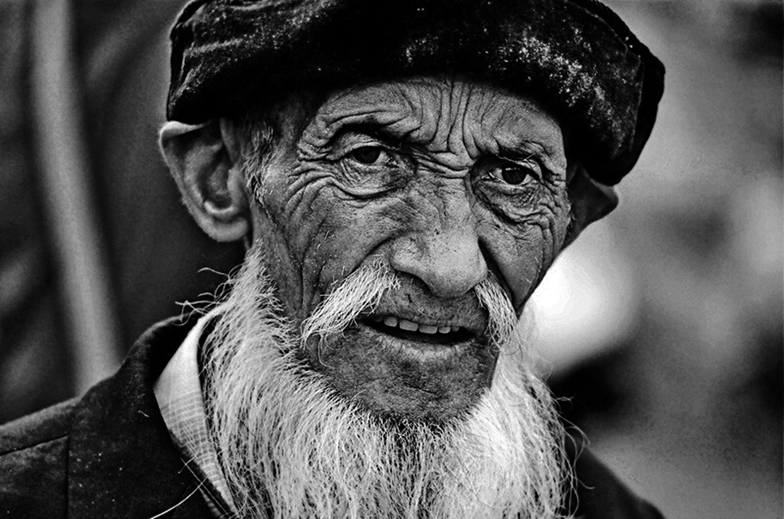 Ulupamir, Erciş / Van Kirghiz Oldman People Peoplephotography Portrait People_bw Black & White Filmisnotdead Pentax