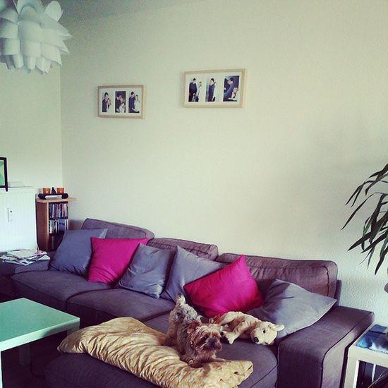 Unser Wohnzimmer ist endlich fertig eingerichtet :) Wohnen Interior IKEA
