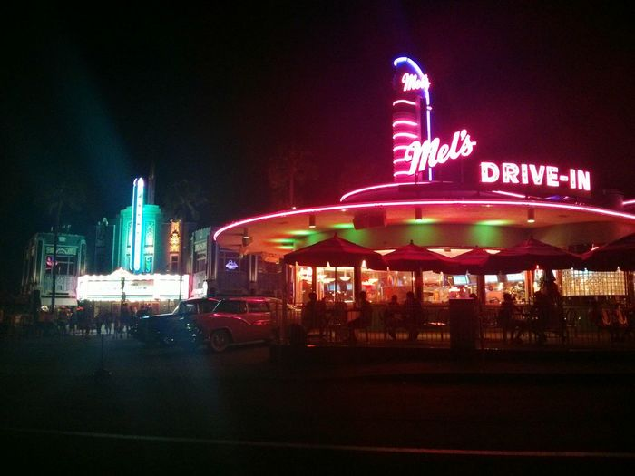 Mel's Mel's Drive-in Florida Orlando Universal Studios Food Place Vacation Time Photography 😜😋