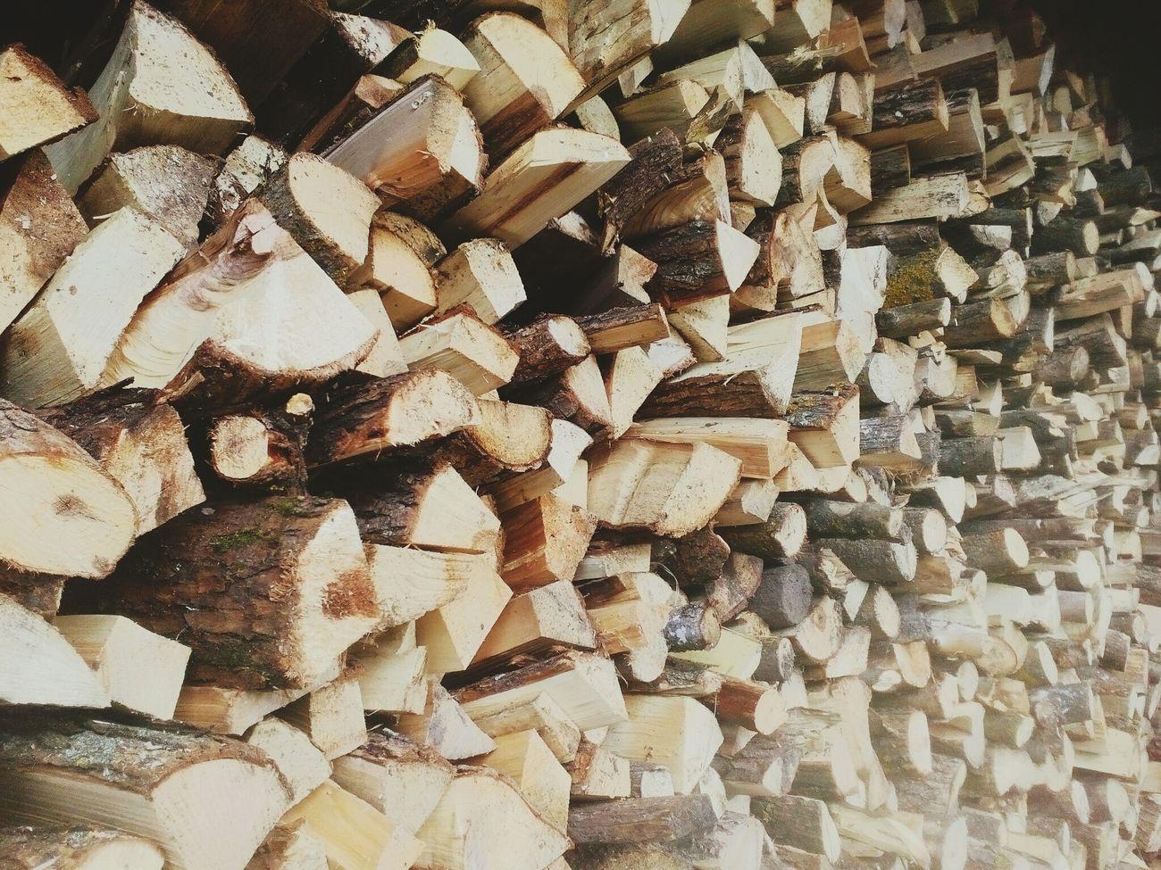 Day No People Stack Textured  дома дрова сегодняшнее утро