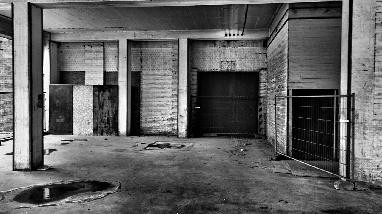 Black And White Monochrome Urbex Urbexphotography The Architect - 2016 EyeEm Awards From My Point Of View Front And Center Sugar Factory Halfweg Netherlands (c) 2016 Shangita Bose All Rights Reserved Urban Geometry