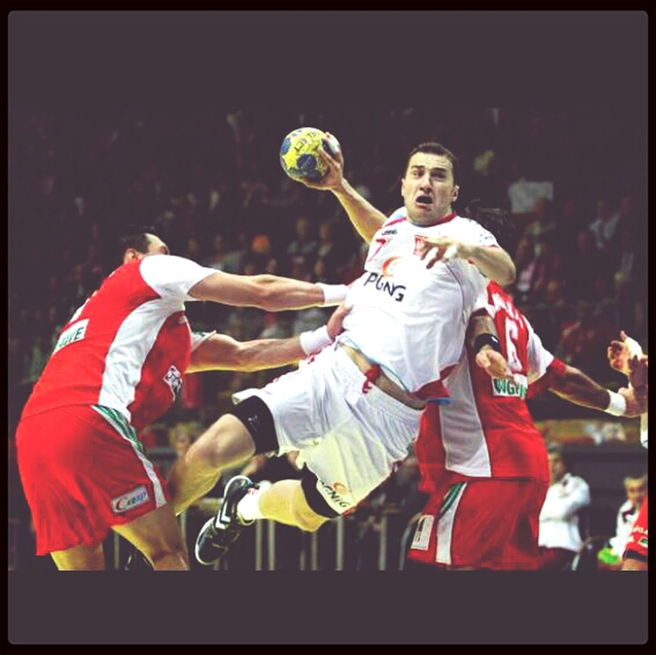 Handbal Player Sport Love #poland