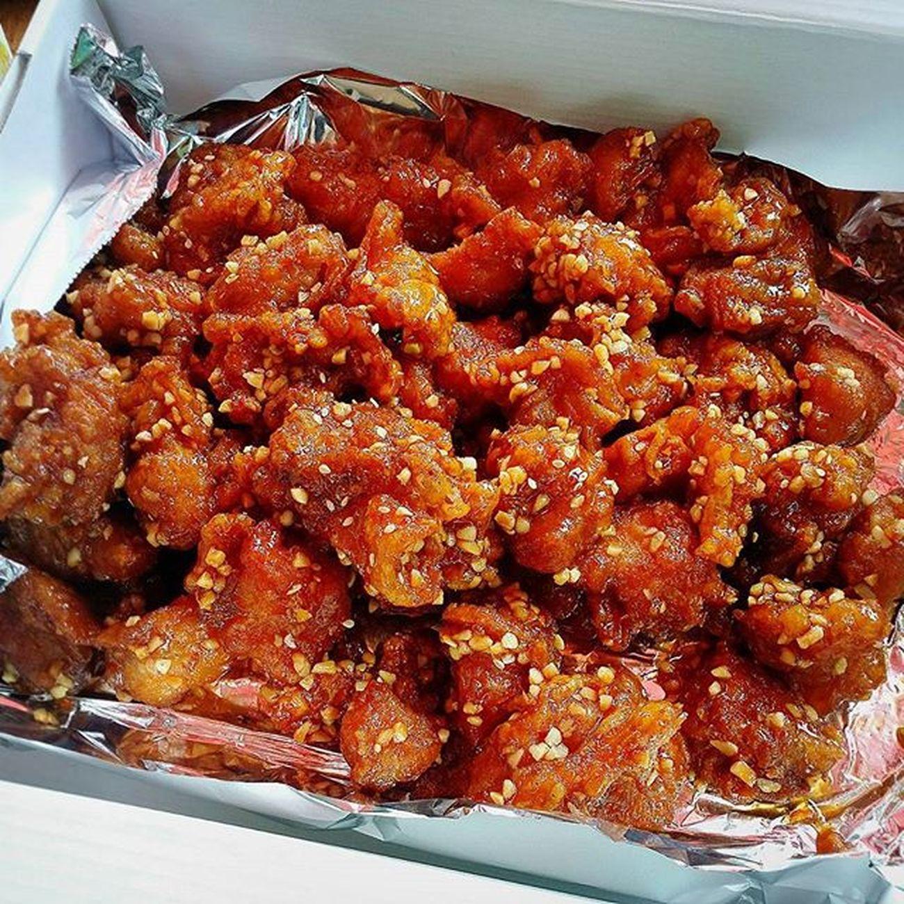 수련회 물놀이전 설악닭강정 냠냠 쫀득쫀득 순살이라좋아 먹스타그램 Instafood Foodie