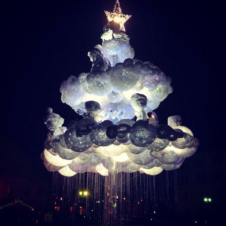 Christmas Tree Lithuania Christmas Lights Christmastown