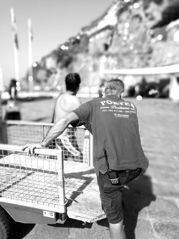 Porter Adult Two People Men Rear View People Adults Only Togetherness Day Outdoors Working Males  Real People Only Men Italy The Week On EyeEm Mobilephotography Smartphonephotography Huawei Honor8 Huaweiphotography Streetphotography_bw Street Portrait Street Life Street Streetphoto Mobile Photography