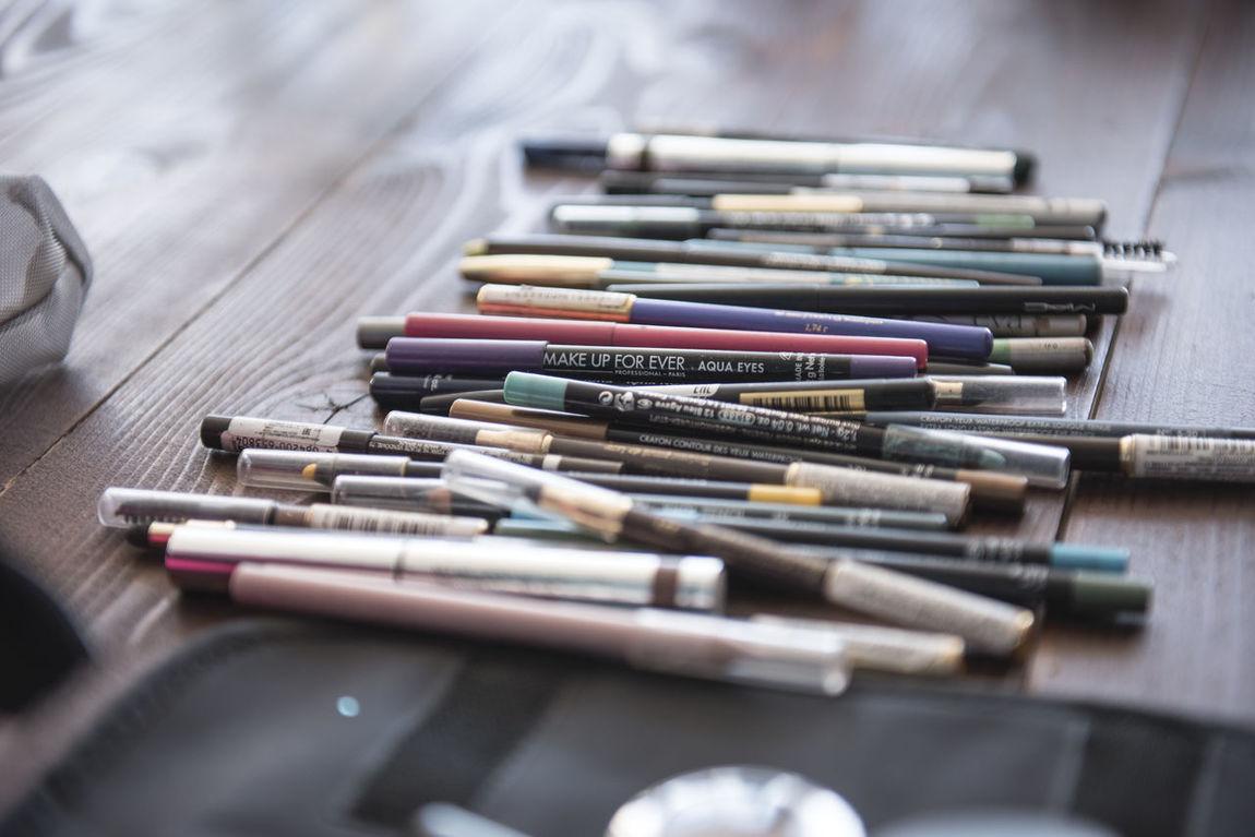 Beauty In Nature Brush Cosmetics Eye Pen Makeup Makeup Props Pencil Sponge