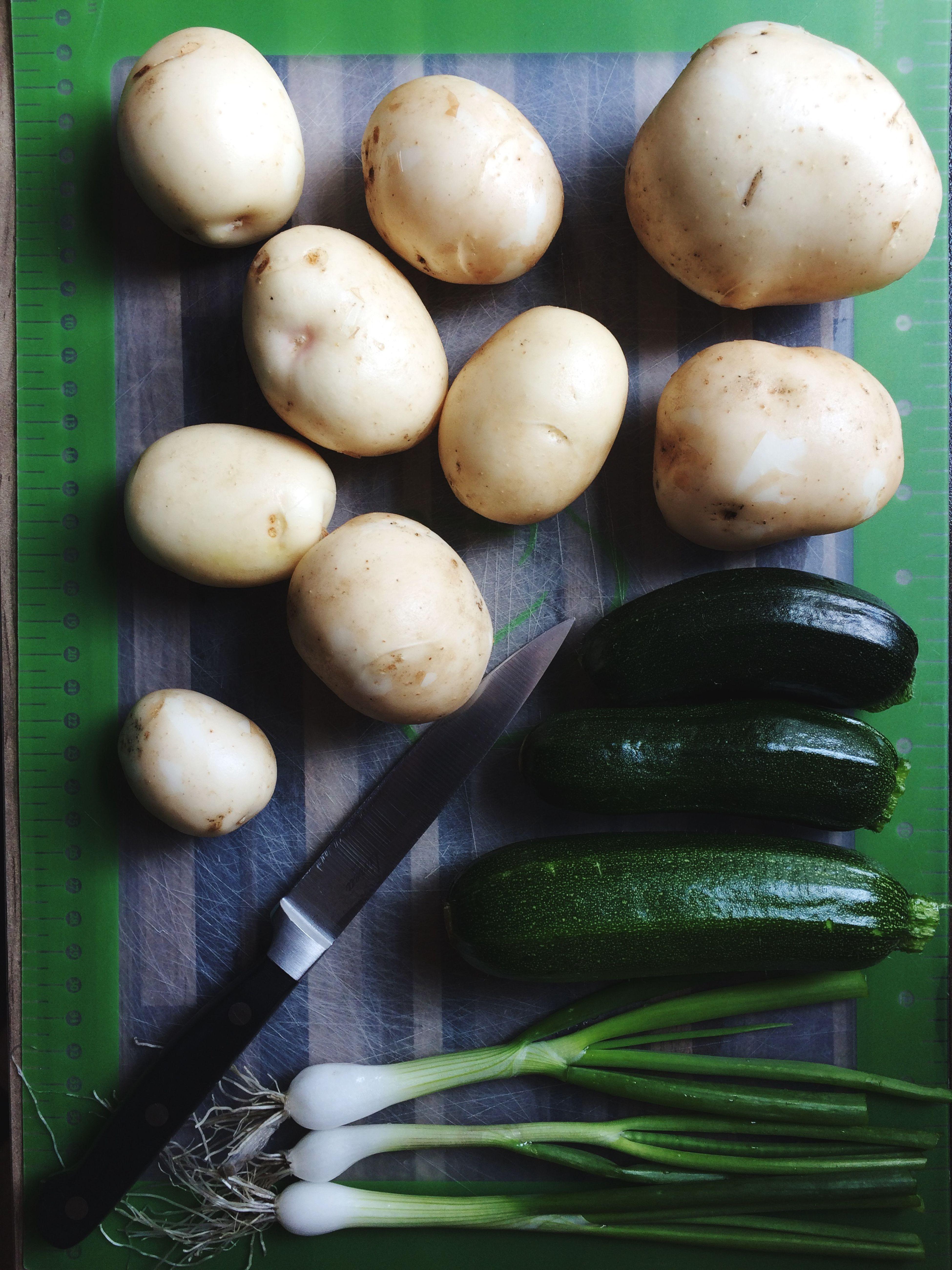 More fresh veg from the garden.
