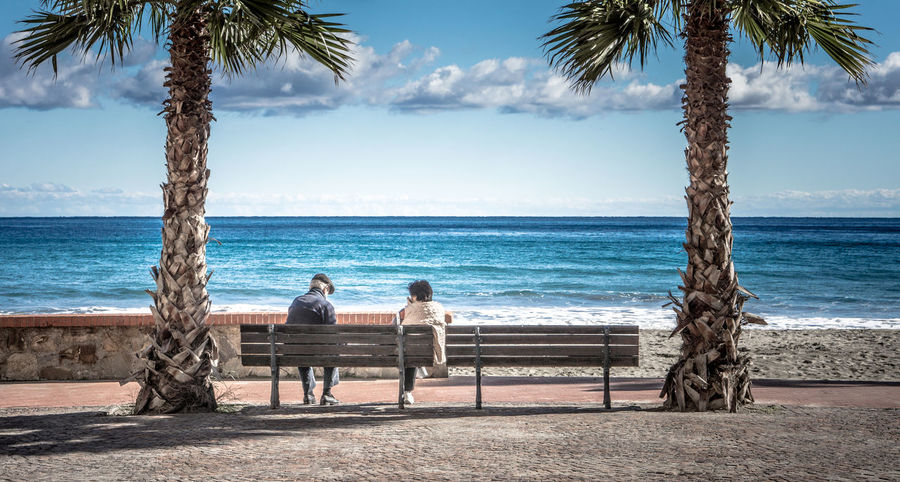 Beach Beachphotography Beautiful Bench Check This Out Color Holiday Horizon Over Water Italia Italy Laigueglia Landscape Landscape_Collection Landscape_photography Palm Trees Promenade Sea Sea And Sky Sitting Street Street Photography Streetphotography Vacation Water Wide Angle