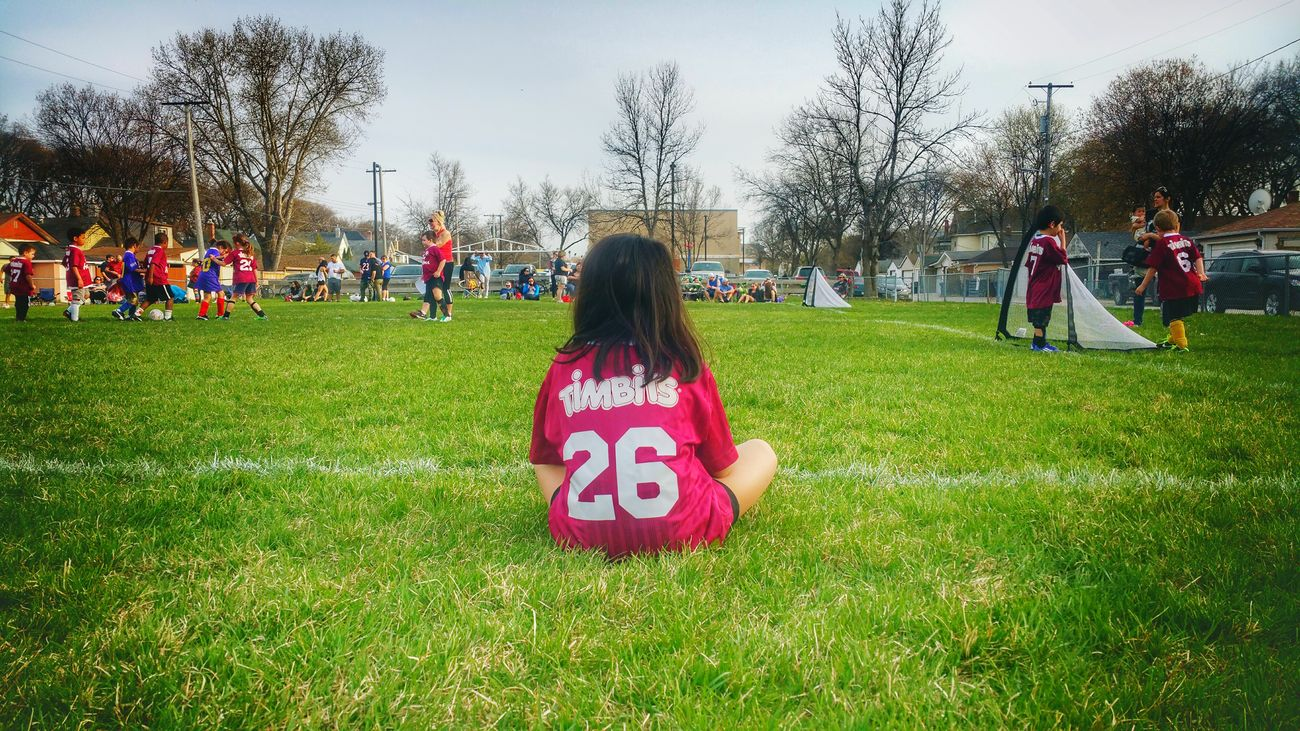 Catching my Neice's Timbits Soccer Game Soccer⚽ Soccer Life Soccer Field Soccer Match Learningtheropes The Portraitist - 2017 EyeEm Awards