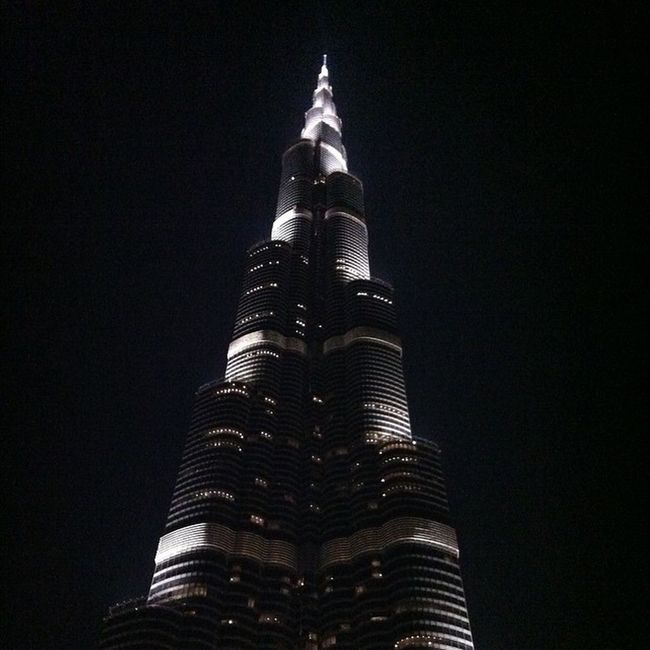 Dubai UAE Burjkalifa Photo tallest blackandwhite vacation holiday night nightlife view spectacular One night at the Burj.