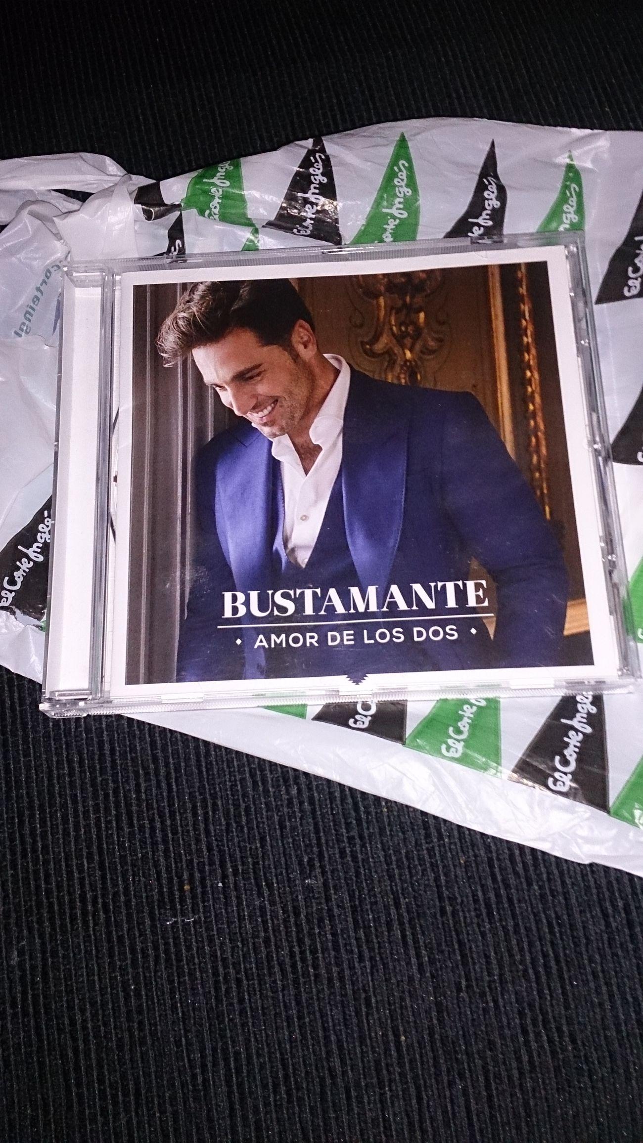 El nuevo Disco de mi Cantante favorito David Bustamante
