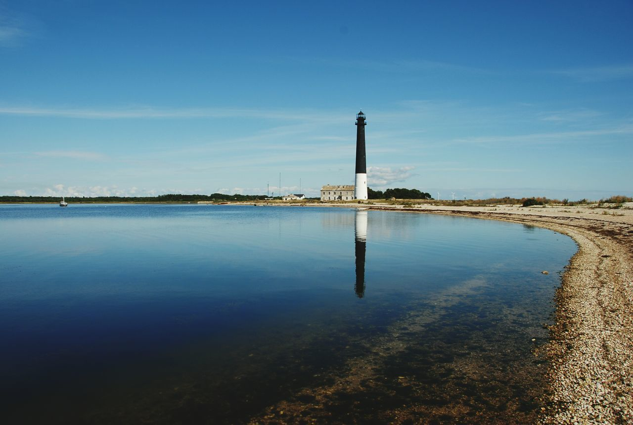 Sõrve lighthouse, Saaremaa island, Estonia Lighthouse Saaremaa Island Saaremaa Estonia Mirror Reflection Sea Baltic Sea Blue Sky Beach Blue Color Sunny Sunnyday Mirroring In Water Island Pebblebeach Sea And Sky Lighthouse And Sea Lighthouses Still Water Outdoors Nice View Nice Views Niceday Nice Place