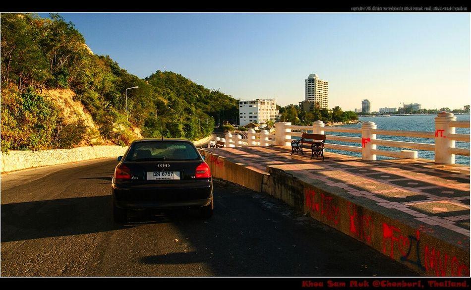 My car @ khoa sam muk, Thailand. Travel Thailand_allshots Landscape_Collection