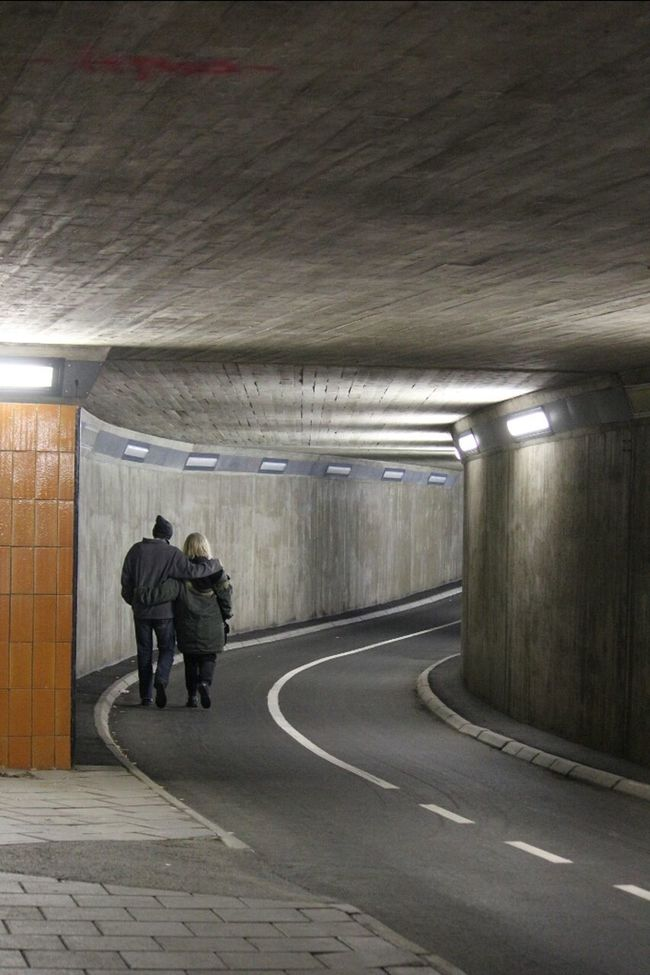 Some warm feelings in the gray tunnel Streetphotography MADE IN SWEDEN Eye4thestreets Street