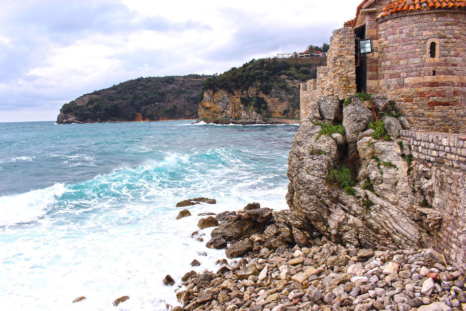 Sea landscap Agua Architecture Beach Beautiful Beauty In Nature Beauty In Nature Castle Castle View  Cielo Day Horizon Over Water Mar Nature Nature No People Outdoors Piedras Rock - Object Rock Formation Scenics Sea Sky Storm Cloud The Castle Water First Eyeem Photo