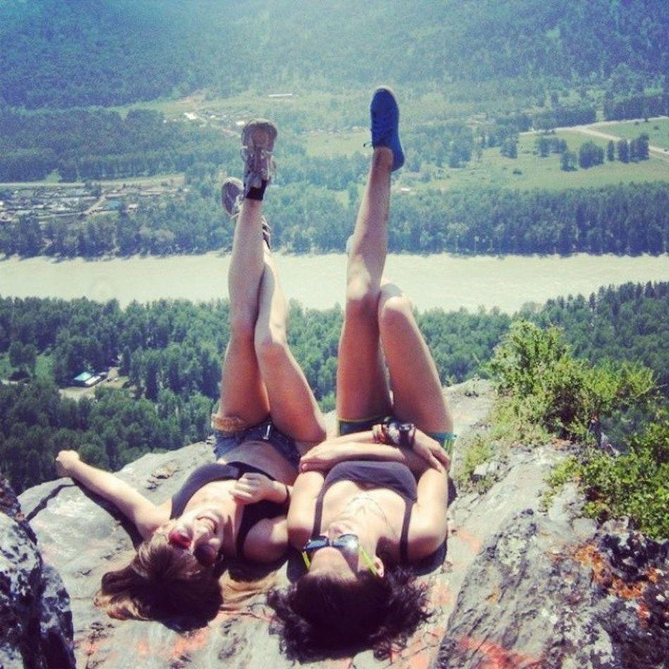 горный гора лето жара поход