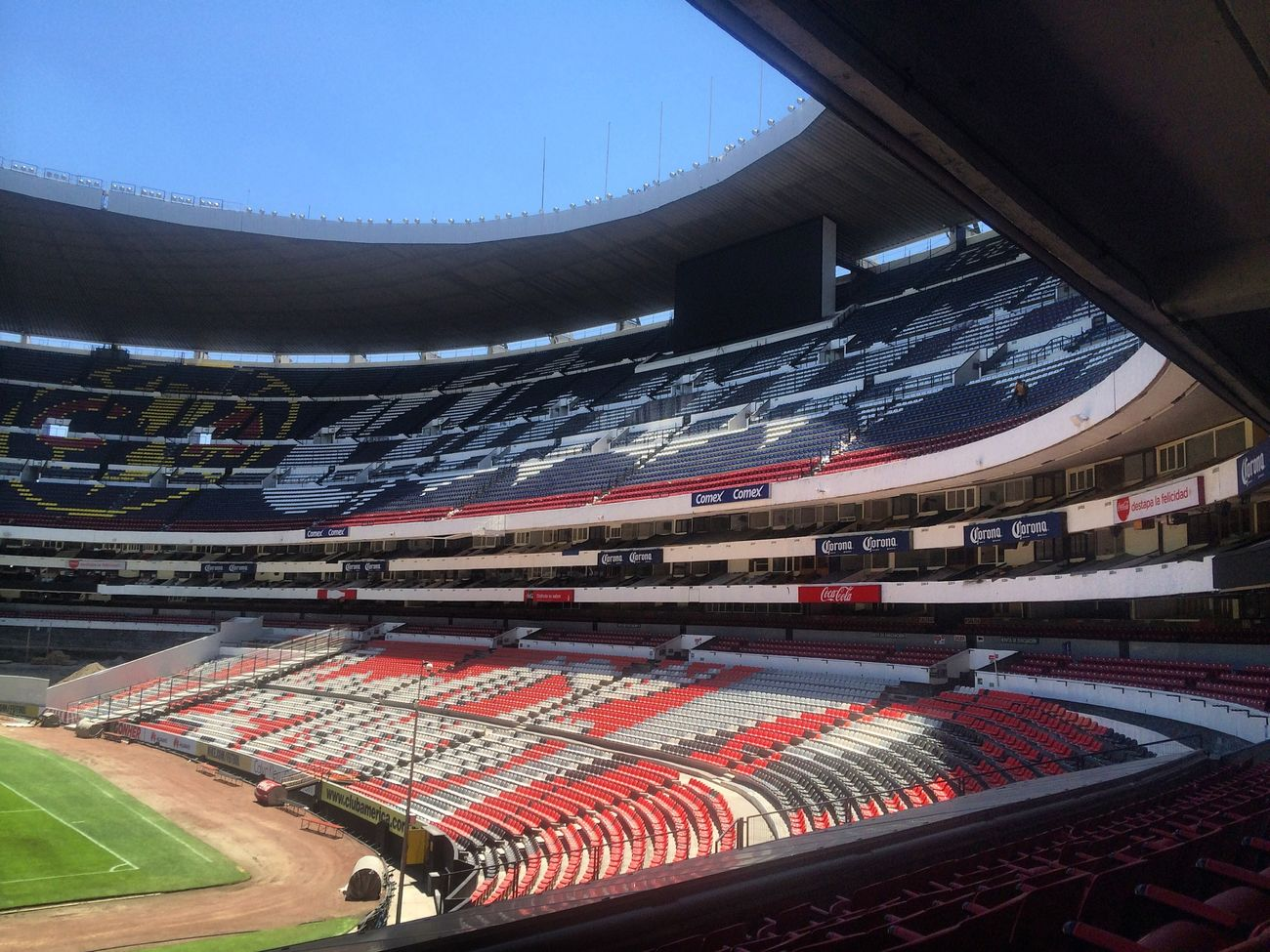 Football Field Football Stadium Football Fifa Estadio Soccer Futbol Mexico City Estadioazteca Stadium