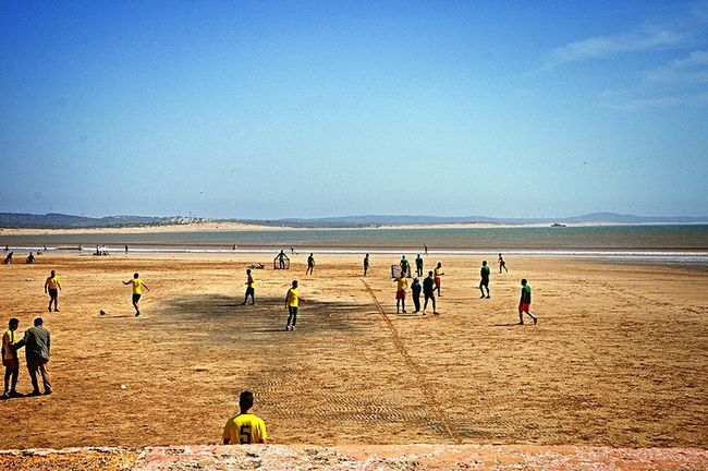 Football Fever Football Field Beachphotography Beach Life Improvise Football Pitch From Where I Stand Taking Photos Football Is Here Football Is Everywhere On The Beach Football Game Soccer Life Football Time  People Playing Football Having Fun Footballislife Sports Photography Sport In The City Football The Journey Is The Destination - Essaouira Morocco Africa