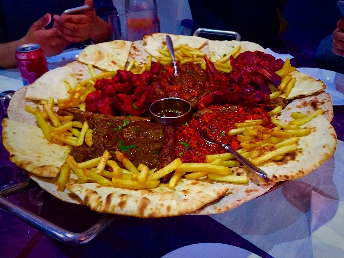 My World Of Food [aPlatter tSpicy Food aIndianrestaurant bFrench Fries Naanbread Show Us Your Takeaway!