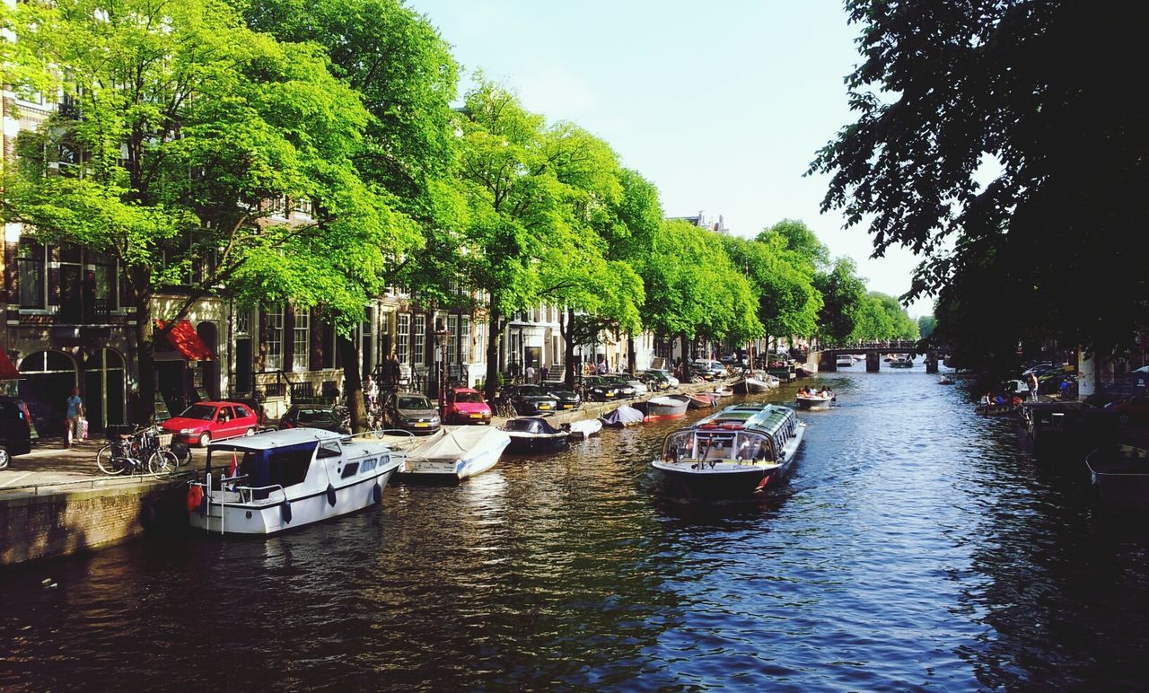 Beautiful stock photos of amsterdam, Architecture, Boat, Building Exterior, Built Structure