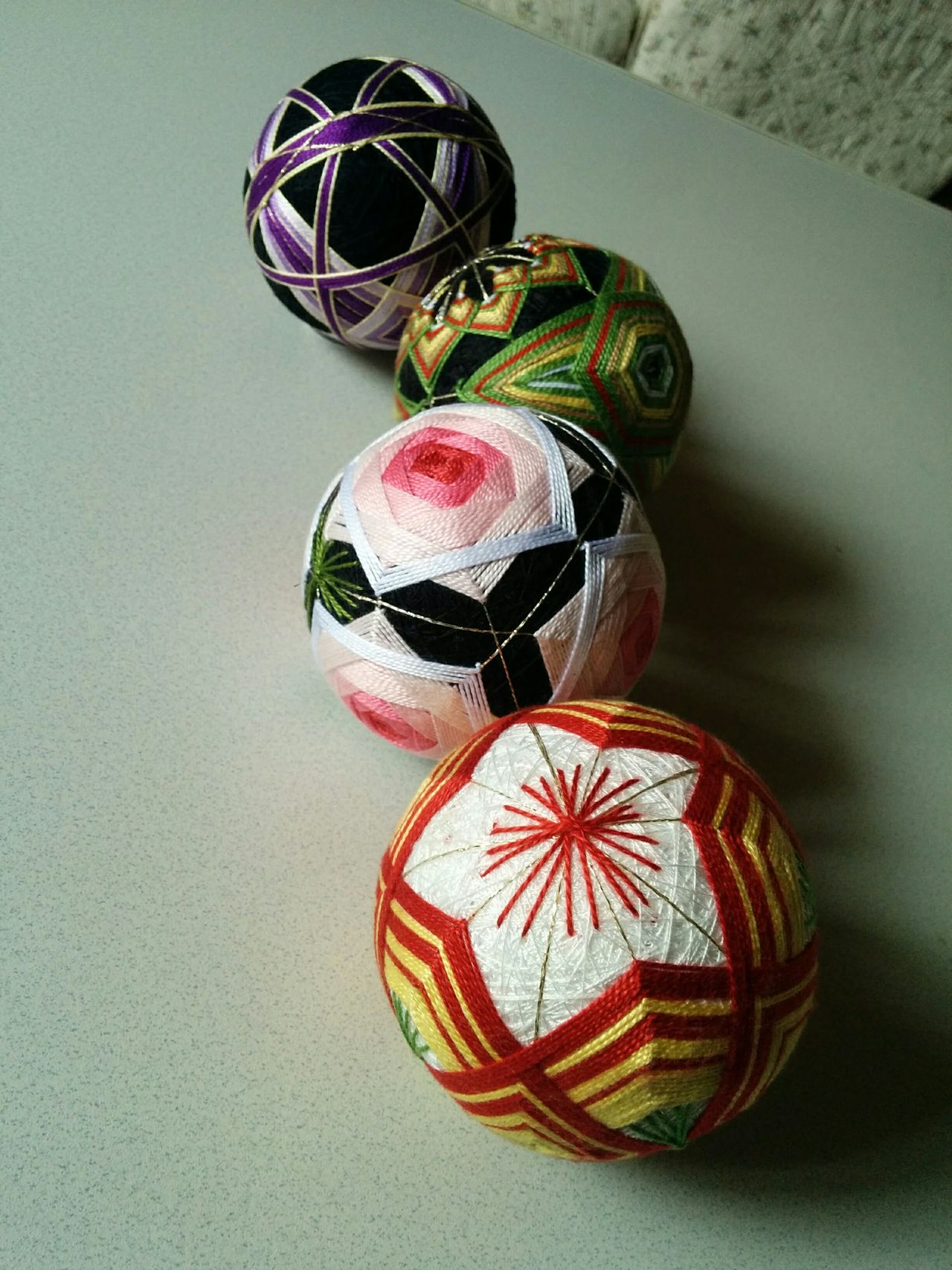 Ball Handmade Japan Japanese Culture Multi Colored Temari 手まり寿司 手毬 First Eyeem Photo