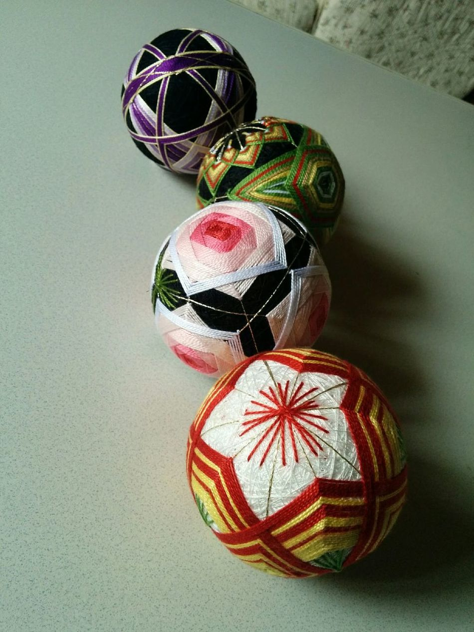 Ball Handmade Japan Japanese Culture Multi Colored Temari 手まり寿司 手毬 First Eyeem Photo