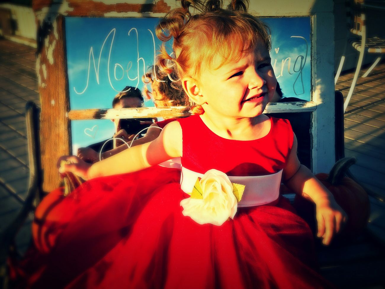 Phot of my niece payton at my older brothers wedding. Baby Niece Cute Weddings
