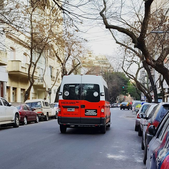 Micro Escolar Escolares Escolar Traffic Transporte De Niños