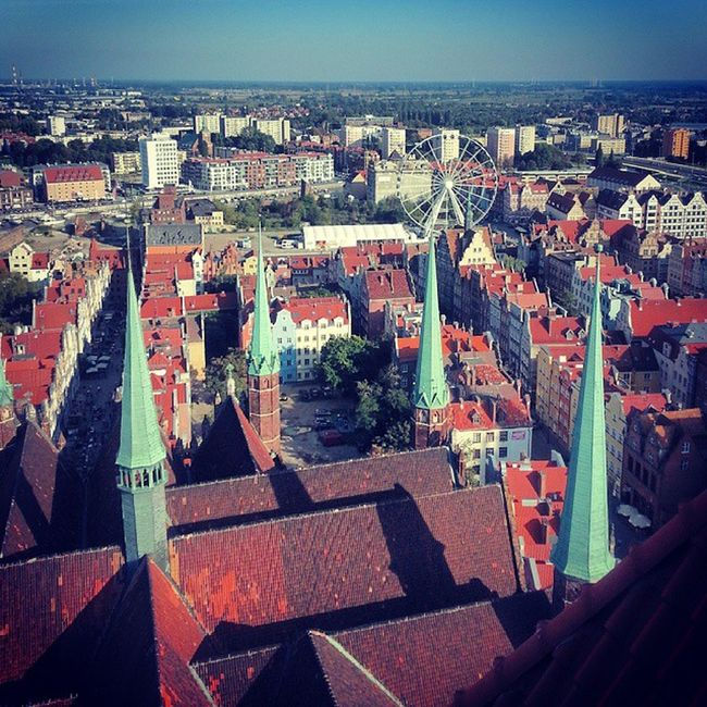 Rooftop View Gdansk Gdańskeye