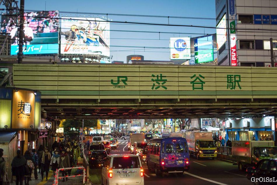 Shibuya Japan JR Line 山手線(JR Yamanote Line) People Enjoying Life Taking Photos People Watching Hello World Nightphotography