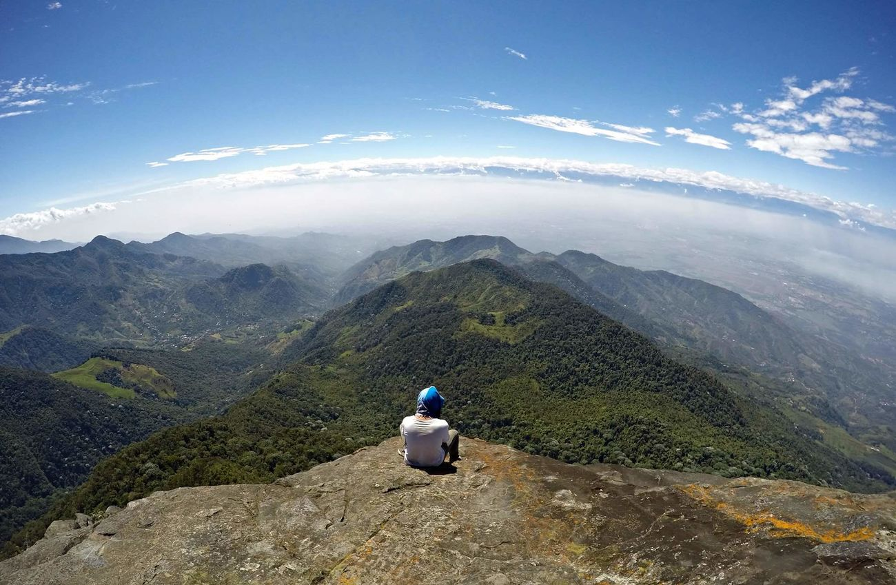Mountain Tranquil Scene Non-urban Scene Beauty In Nature Outdoors Top Of The Mountains Top Of The Mountain Goprouniverse GoPrography Goprophotography Gopro Shots Goprohero4 Gopro Colombia