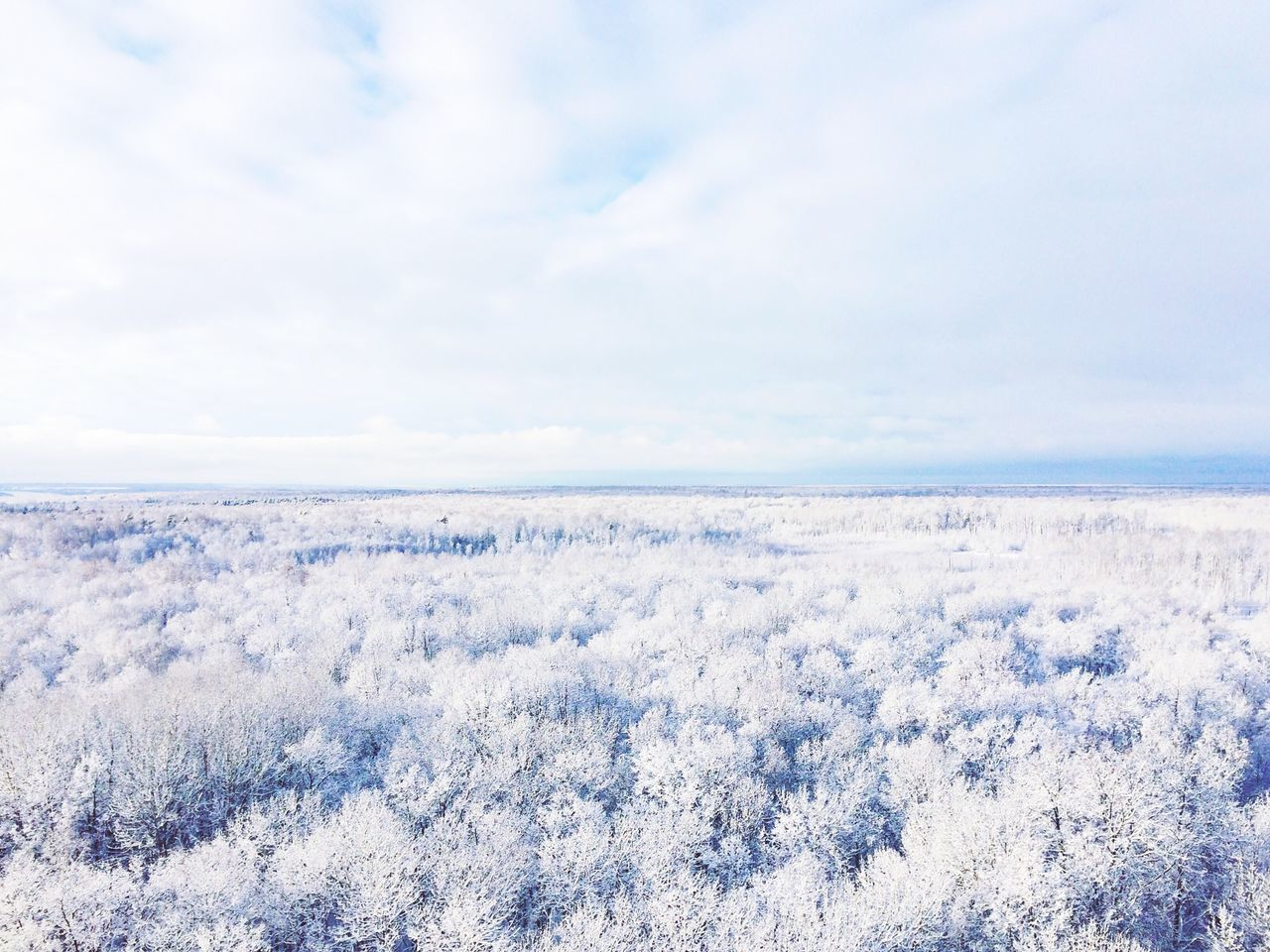 nature, sky, beauty in nature, tranquility, cloud - sky, scenics, weather, winter, tranquil scene, cold temperature, no people, snow, landscape, outdoors, day