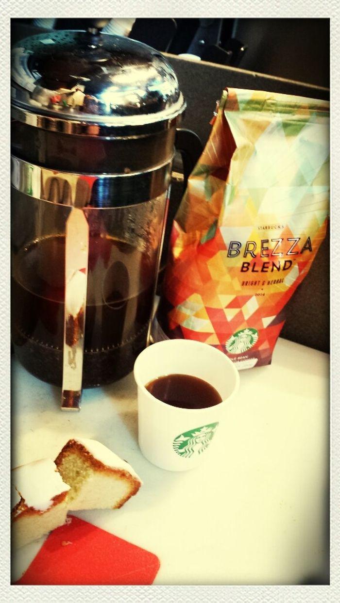 Brezza Blend StarbucksMexico Coffee Tasting