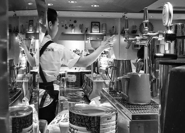 Cafe Cafe Time Restaurant Commercial Kitchen