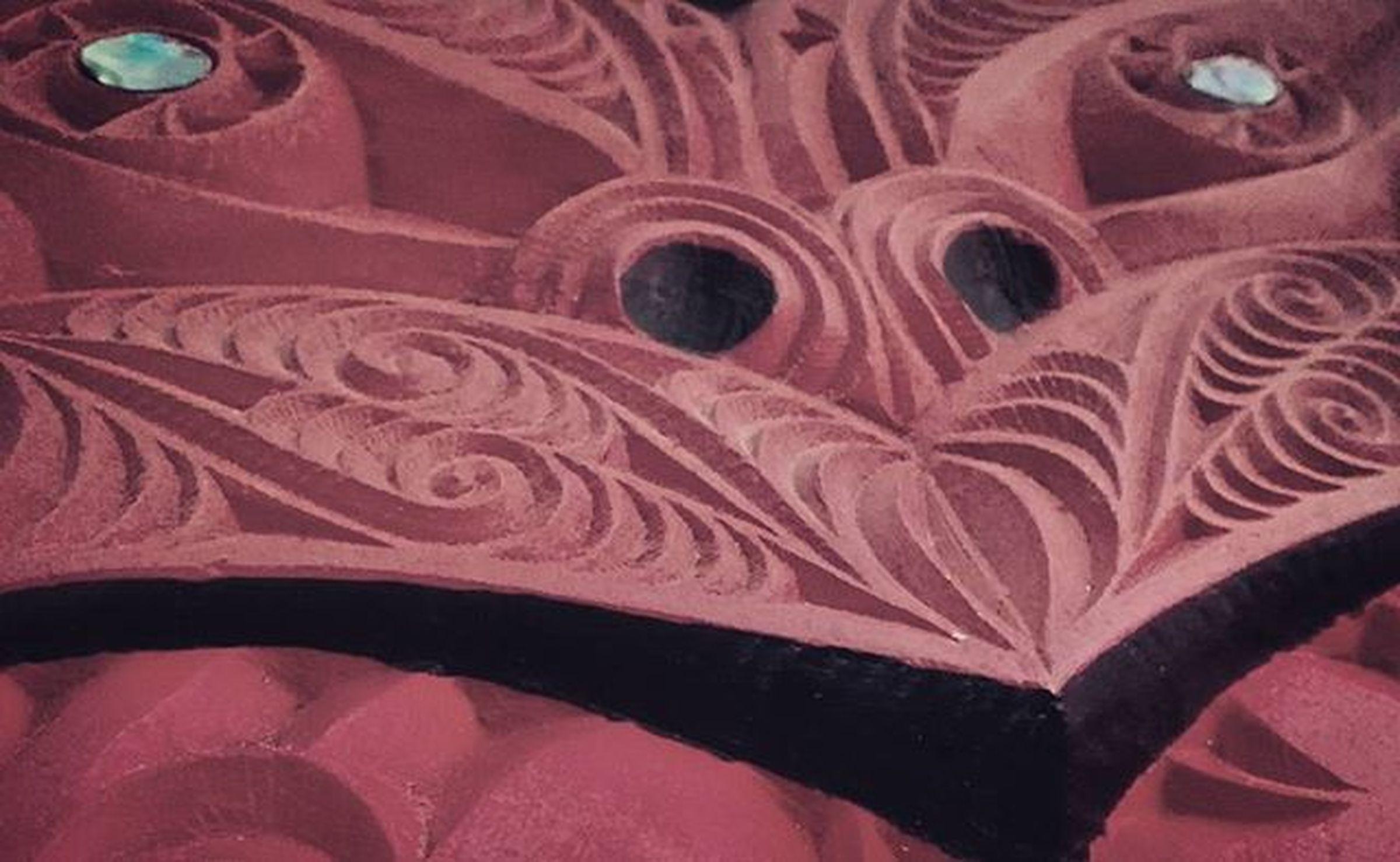 Maori Carving Whakairo Aotearoa NZ Newzealand Maoriculture 21stkey Brown Filltheframe_nio Wmm_brown Wooden_hue_art