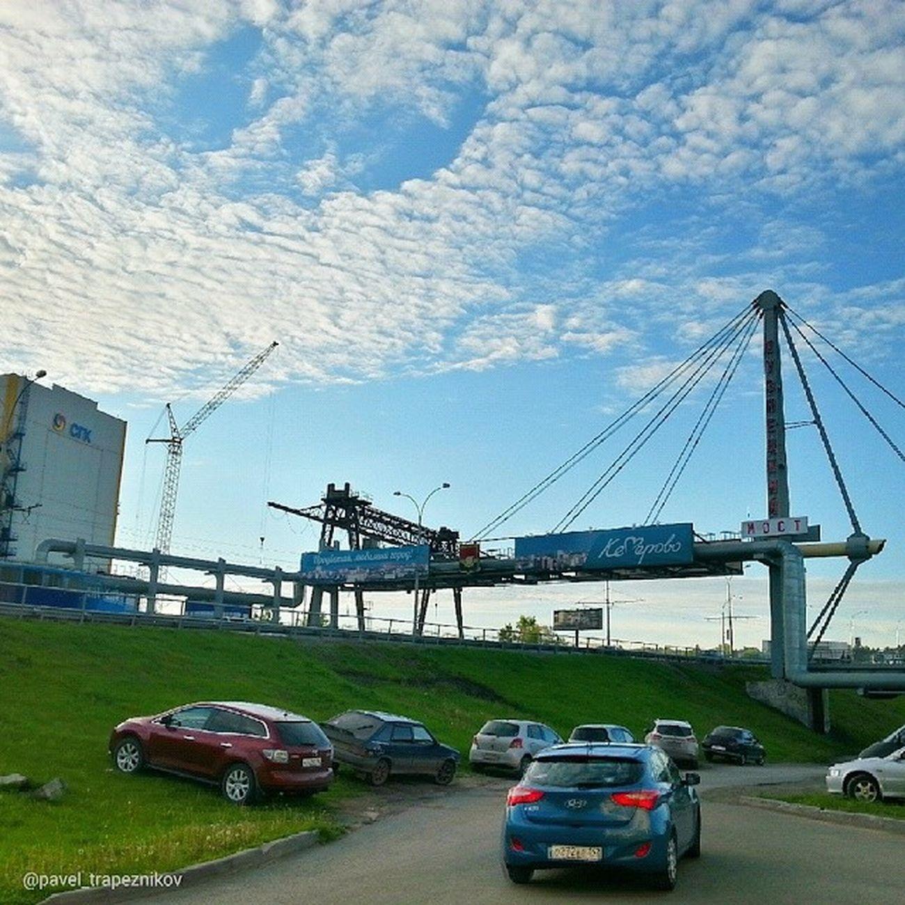 20140612 , Кемерово . кузнецкиймост . Ванты / Kemerovo. Kuznetskу bridge.