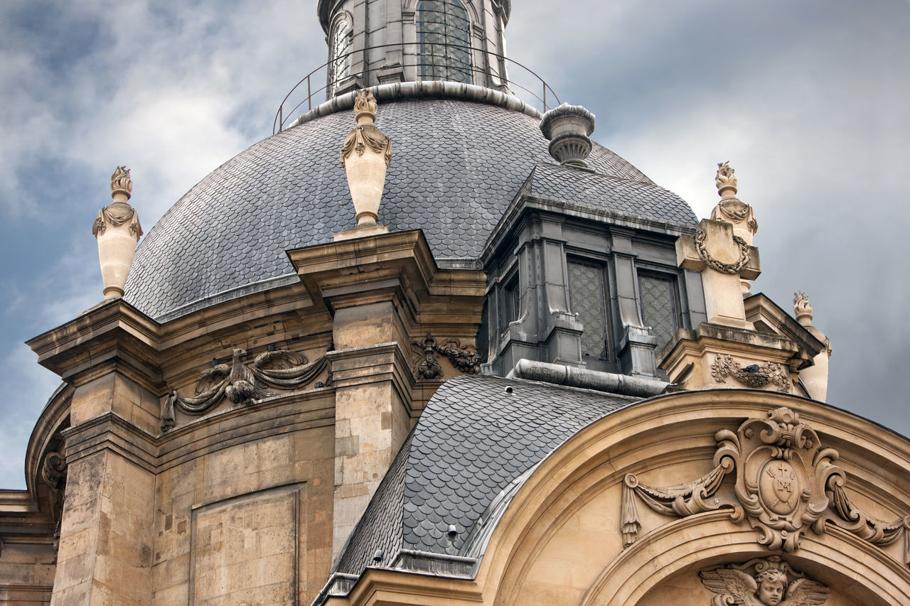 Temple du Marais, Paris, France Architecture Building Exterior Built Structure Church Dome France History Low Angle View Paris Perspective Religion Spirituality Temple Du Marais