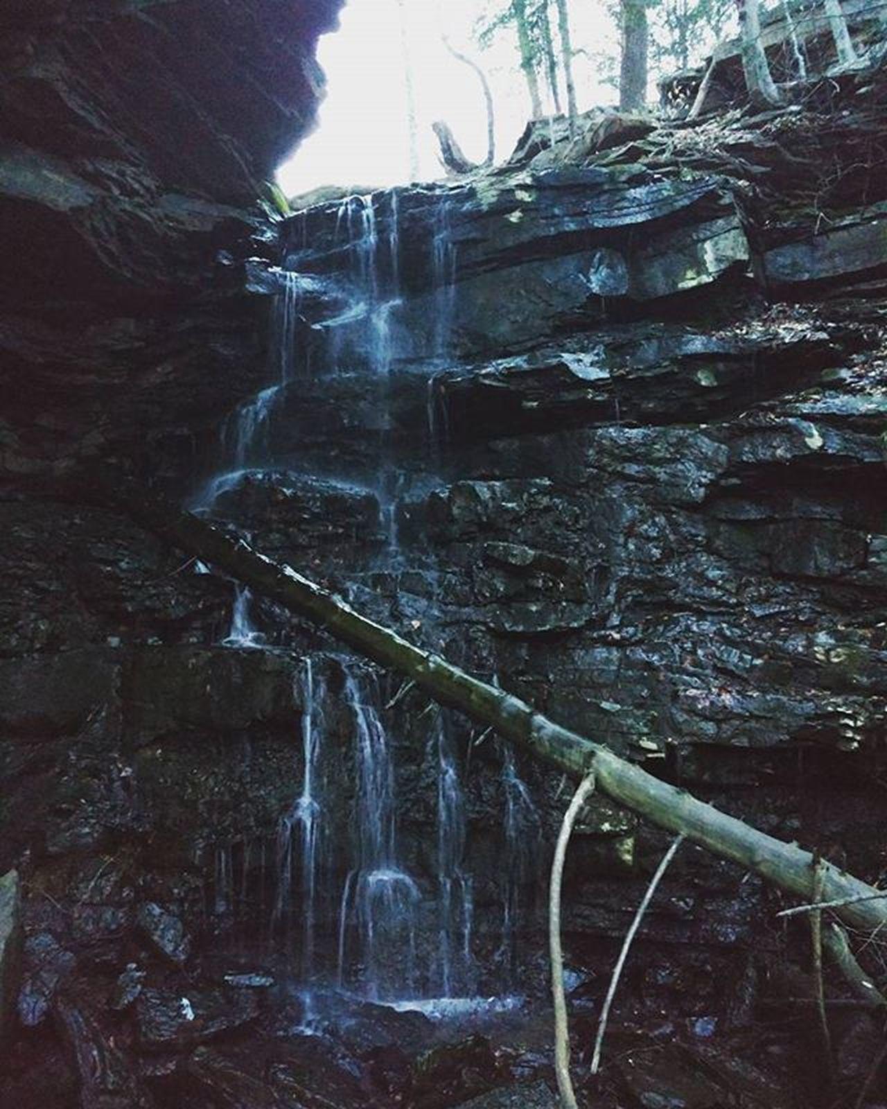 Right in your backyard. . . . . . . Nature Waterfall Outdoors Adventure GetOutThere Cool Centralpascenery Naturalpa Naturalpennsylvania Scenicpa