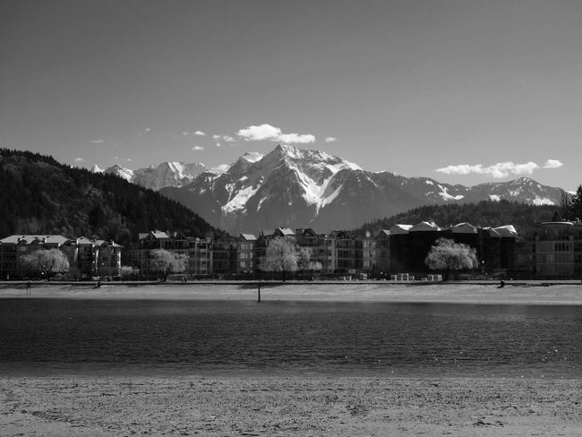 Blackandwhite Mountains Mountain View Mountain Snowcapped Mountain Black And White Black & White Blackandwhite Photography Landscape Lake Lakeshore Lake View