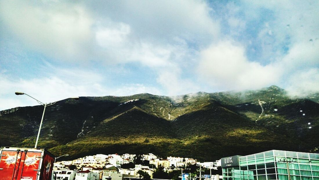 This morning Clouds Mountain Sky Landscape