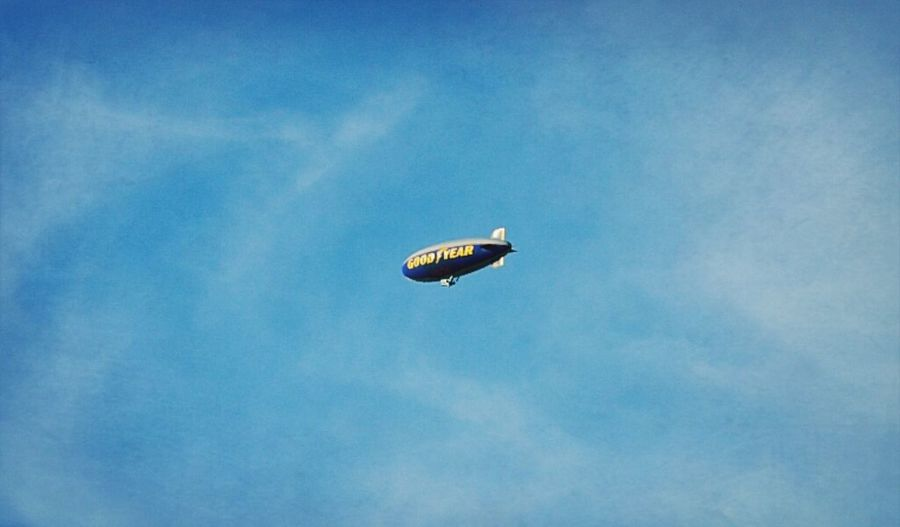 So far it's a good year Photography Art Goodyear Blimp Blimp