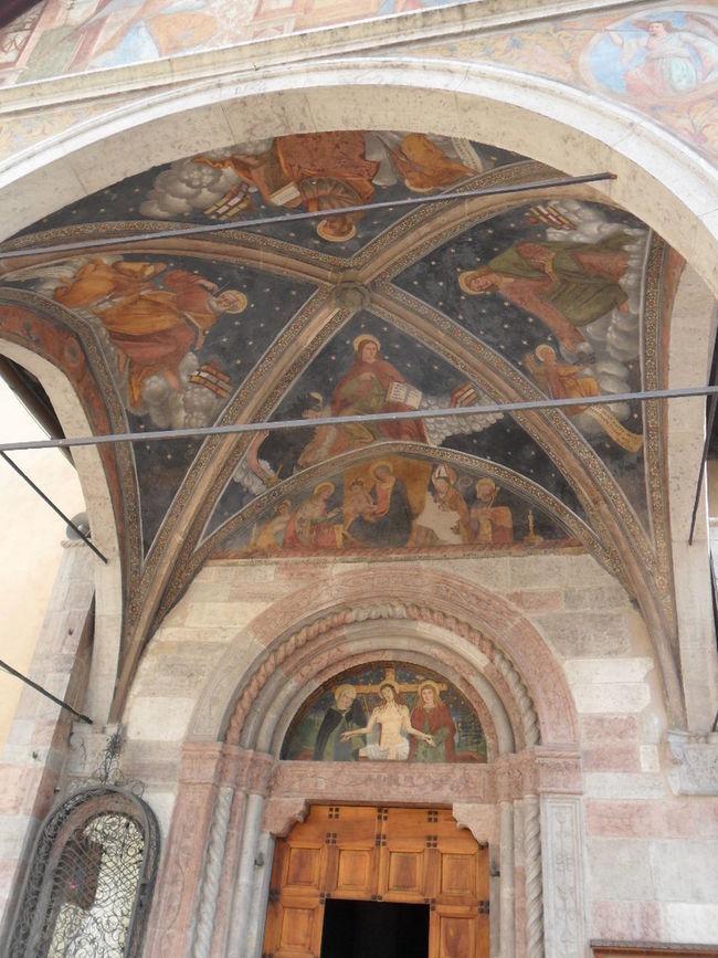 Affreschi Architecture Frammenti Di Affresco Fresco Indoors  Parete Affrescata Pittura A Fresco Pitture Antiche Restauro Di Affresco Volta Affrescata
