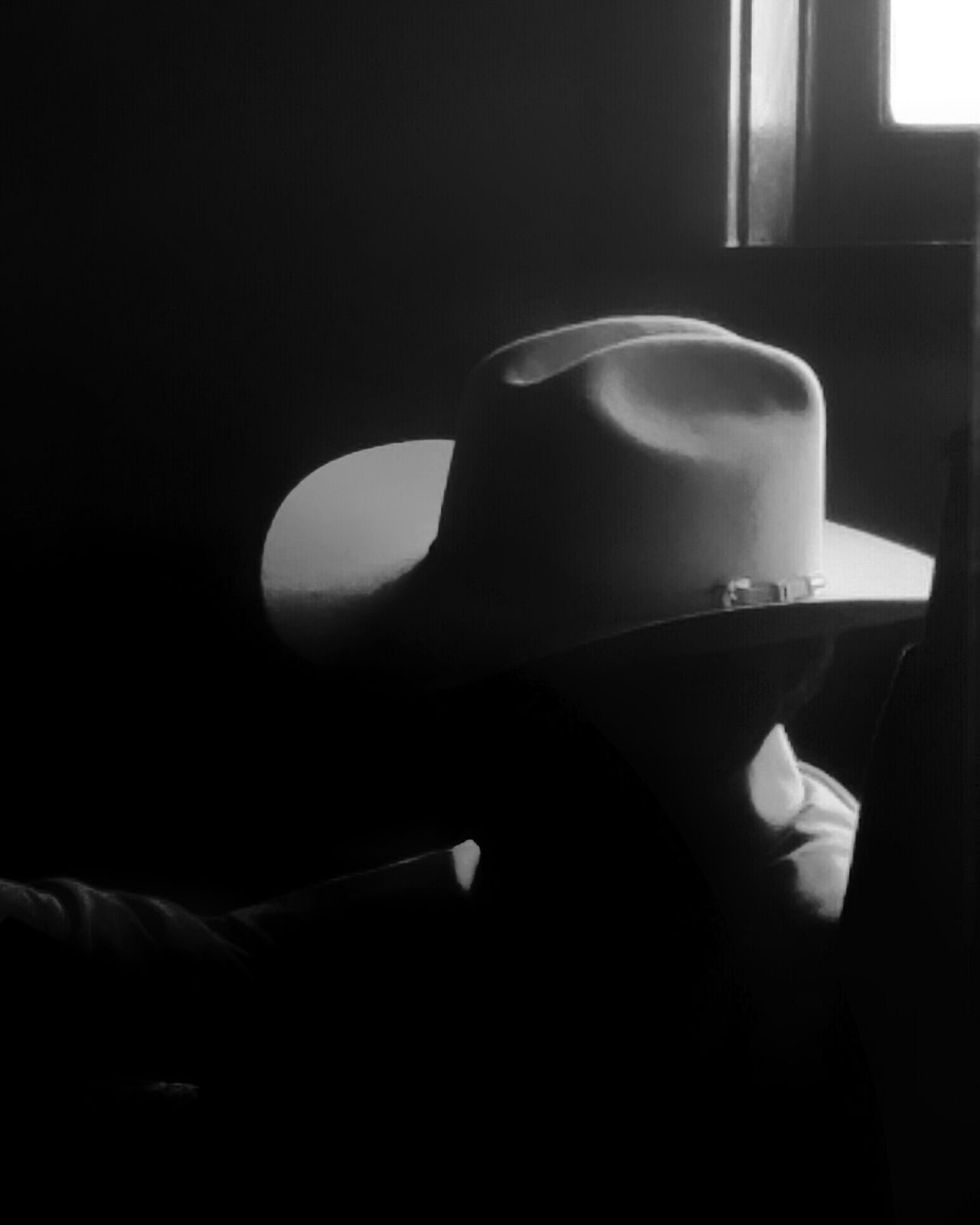 Shadow Indoors  Sunlight Domestic Room Home Interior Black&white Blackandwhite Black And White Collection! Eyeemphotography Black & White Photography This Week On Eyeem Blackandwhite Photography EyeEm Gallery Texas Photographer One Man Only Headwear Headshot Day