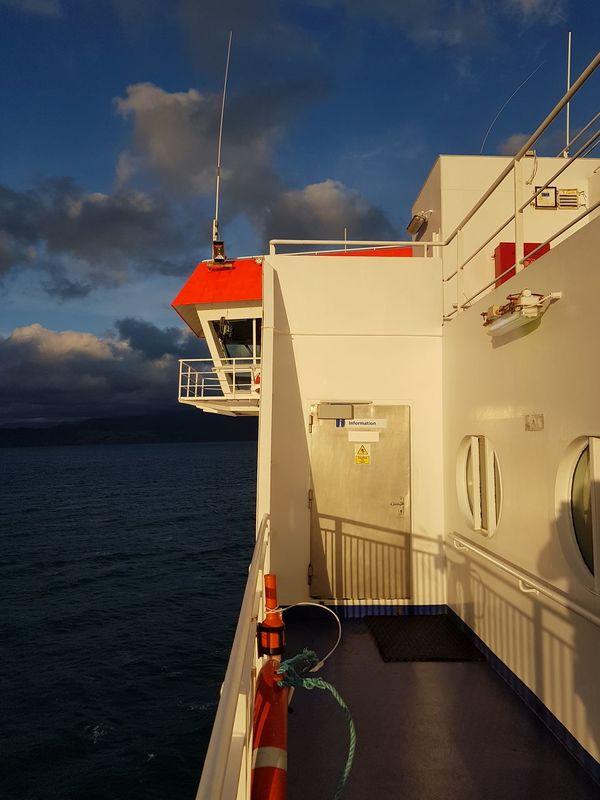 The bridge. Cloud - Sky Water Sky Nautical Vessel Built Structure Outdoors Sea Ocean Ship NoEditNoFilter Asis Interislander Ferry New Zealand NZ Deck Sunlight Newzealand